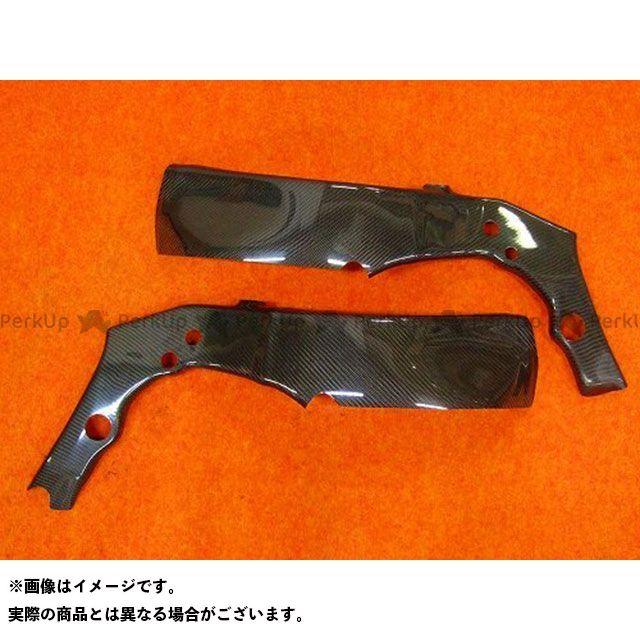 クレバーウルフ ニンジャZX-10R フレームカバー(カーボン綾織) CLEVERWOLF