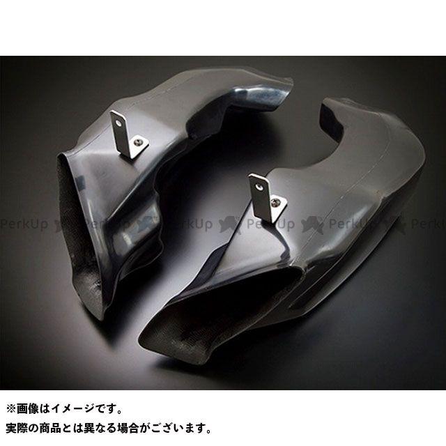 クレバーウルフ GSX-R1000 エアーダクトセット 素材:黒FRP CLEVERWOLF