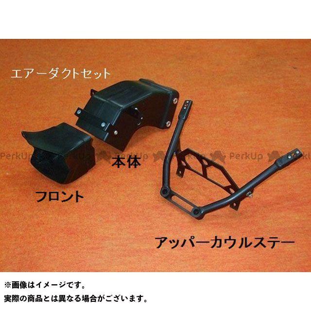 クレバーウルフ YZF-R1 エアーダクト セット 黒FRP CLEVERWOLF