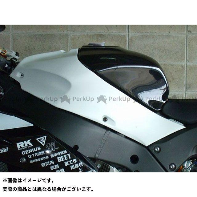 クレバーウルフ ニンジャZX-10R タンクカバー(白FRP) CLEVERWOLF