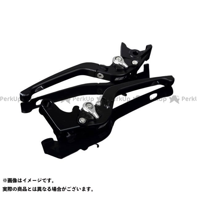 メーカー在庫あり SSK YZF-R6 アルミビレットアジャストレバーセット 3D可倒式(レバー本体:マットブラック) マットシルバー