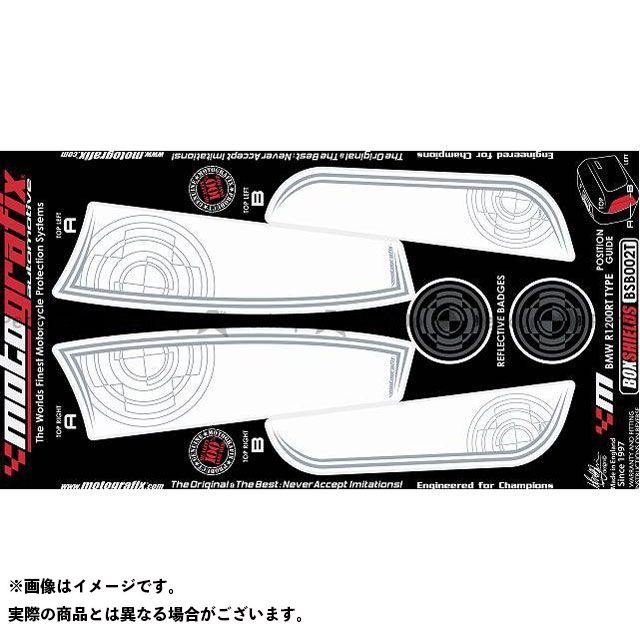 【エントリーで最大P23倍】モトグラフィックス R1200RT ボディパッド Transparent Box Shields BMW タイプ:BSB002T MOTOGRAFIX