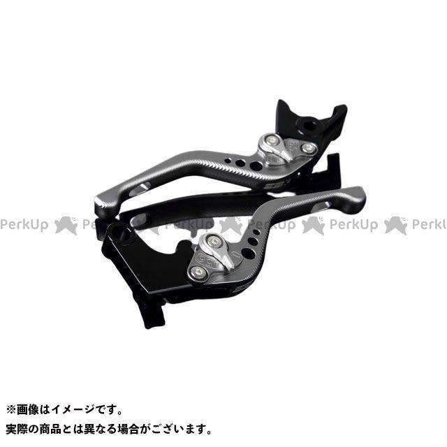【特価品】SSK ニンジャZX-6R アルミビレットアジャストレバーセット 3Dショート(レバー本体:マットチタン) アジャスター:マットシルバー エスエスケー