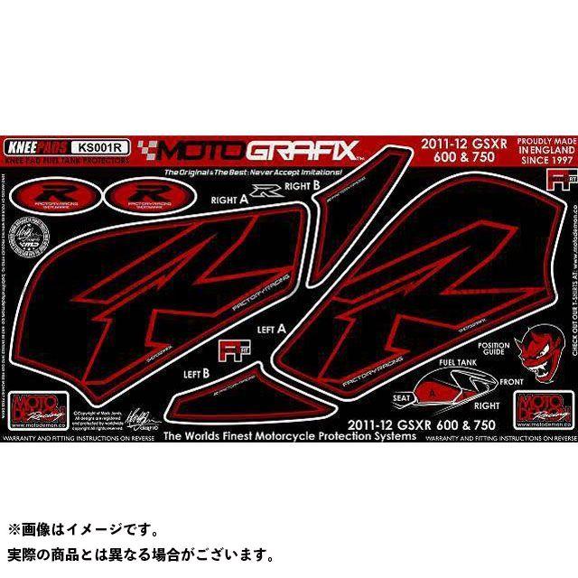 【エントリーで最大P23倍】モトグラフィックス GSX-R600 GSX-R750 ボディパッド Knee スズキ タイプ:KS001R MOTOGRAFIX