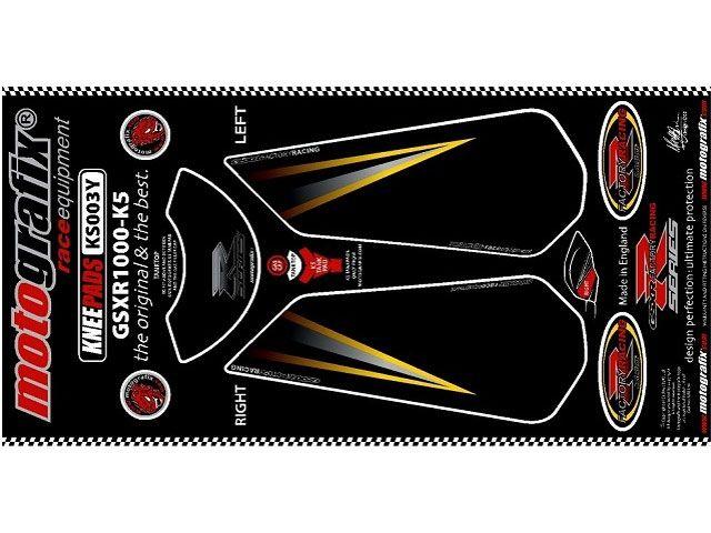 宅配 送料無料 ボディパッド 送料無料 モトグラフィックス スズキ スズキ汎用 ドレスアップ・カバー KS003Y ボディパッド Knee スズキ, つえ子の素敵な杖屋さん:116cd1f5 --- canoncity.azurewebsites.net