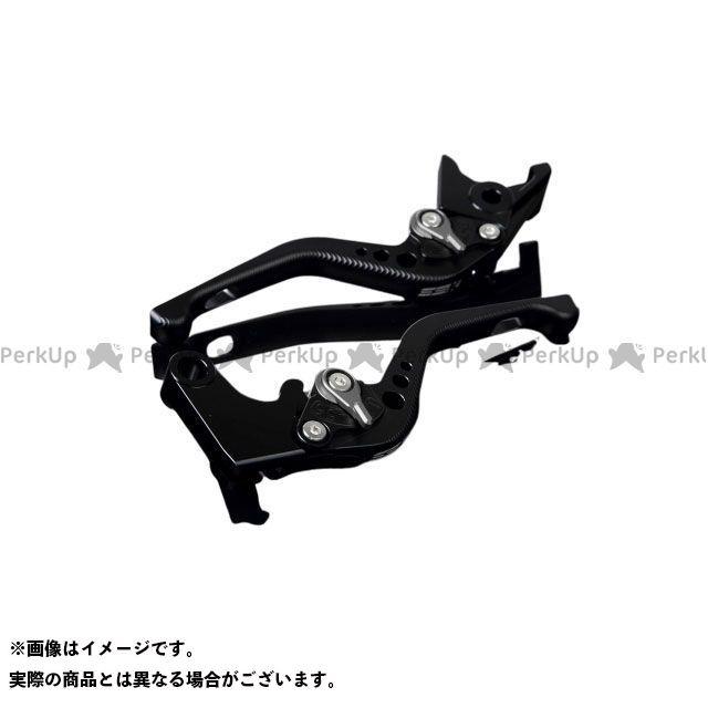 【特価品】SSK ニンジャZX-10R ニンジャZX-10RR アルミビレットアジャストレバーセット 3Dショート(レバー本体:マットブラック) アジャスター:マットチタン エスエスケー