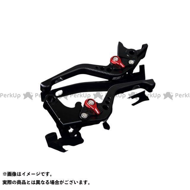 【特価品】SSK YZF-R1 YZF-R6 アルミビレットアジャストレバーセット 3Dショート(レバー本体:マットブラック) アジャスター:マットレッド エスエスケー