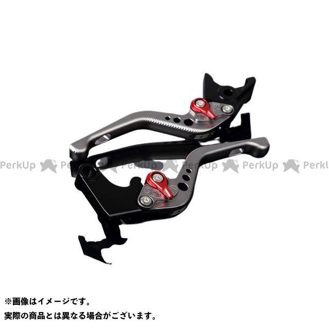【特価品】SSK YZF-R1 YZF-R6 アルミビレットアジャストレバーセット 3Dショート(レバー本体:マットチタン) アジャスター:マットレッド エスエスケー