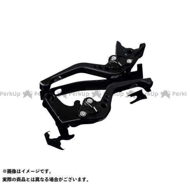 【特価品】SSK YZF-R1 アルミビレットアジャストレバーセット 3Dショート(レバー本体:マットブラック) アジャスター:マットブラック エスエスケー