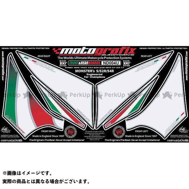 モトグラフィックス ND004U ボディパッド Front&Rear ドゥカティ MOTOGRAFIX