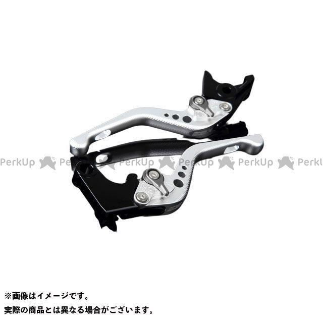 【特価品】SSK GSX-R1000 GSX-R600 GSX-R750 アルミビレットアジャストレバーセット 3Dショート(レバー本体:マットシルバー) アジャスター:マットチタン エスエスケー