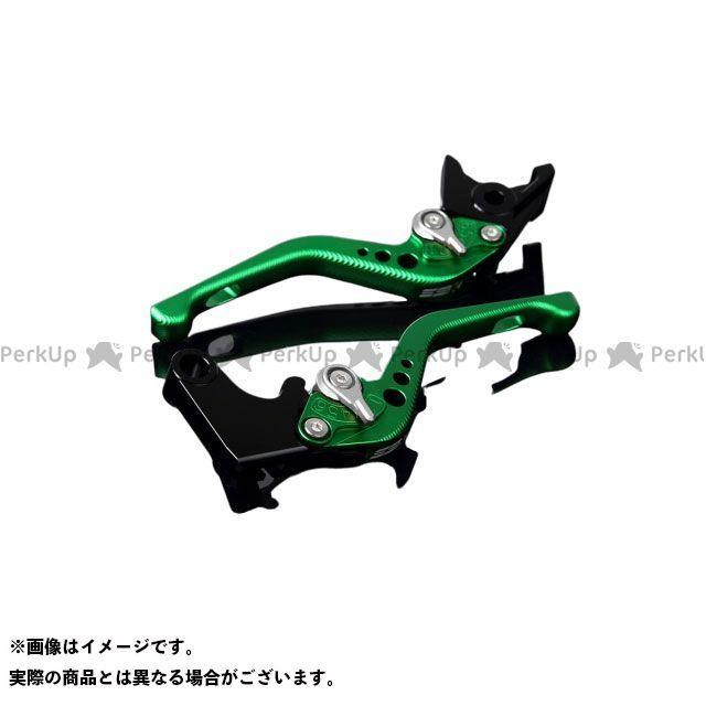 【特価品】SSK アルミビレットアジャストレバーセット 3Dショート(レバー本体:マットグリーン) アジャスター:マットシルバー エスエスケー