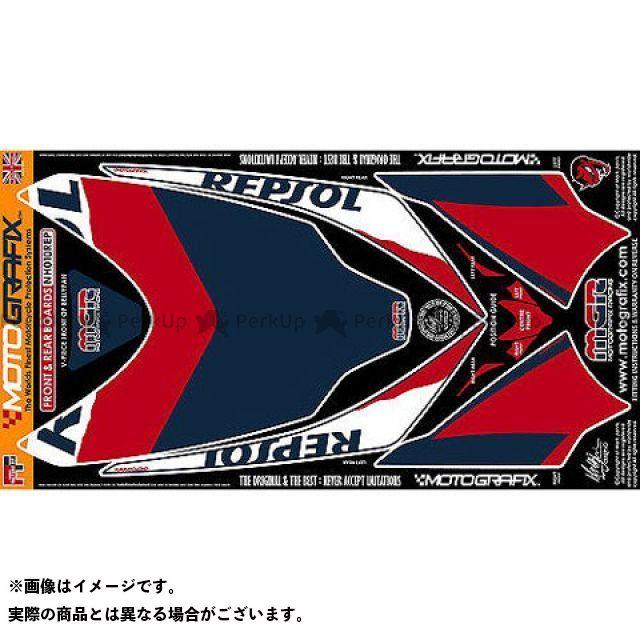 モトグラフィックス CBR1000RRファイヤーブレード ボディパッド Front&Rear ホンダ タイプ:NH010REP MOTOGRAFIX