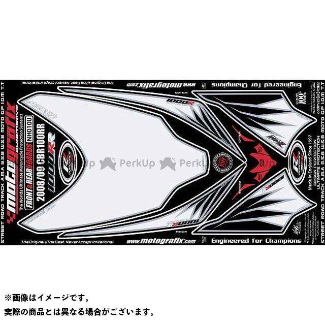 【エントリーで最大P23倍】モトグラフィックス CBR1000RRファイヤーブレード ボディパッド Front&Rear ホンダ タイプ:NH010U MOTOGRAFIX