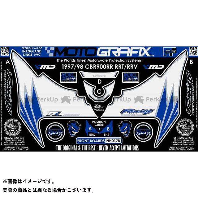 【エントリーで最大P23倍】モトグラフィックス CBR900RRファイヤーブレード ボディパッド Front ホンダ タイプ:NH017B MOTOGRAFIX