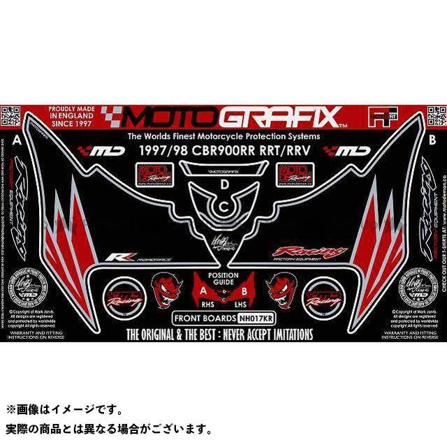 【エントリーで最大P23倍】モトグラフィックス CBR900RRファイヤーブレード ボディパッド Front ホンダ タイプ:NH017KR MOTOGRAFIX