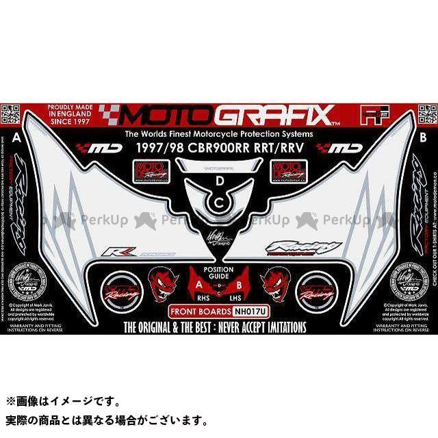 モトグラフィックス CBR900RRファイヤーブレード ボディパッド Front ホンダ タイプ:NH017U MOTOGRAFIX