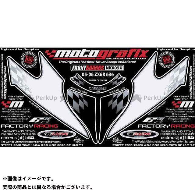【エントリーで最大P23倍】モトグラフィックス ニンジャZX-6R NK005U ボディパッド Front カワサキ MOTOGRAFIX