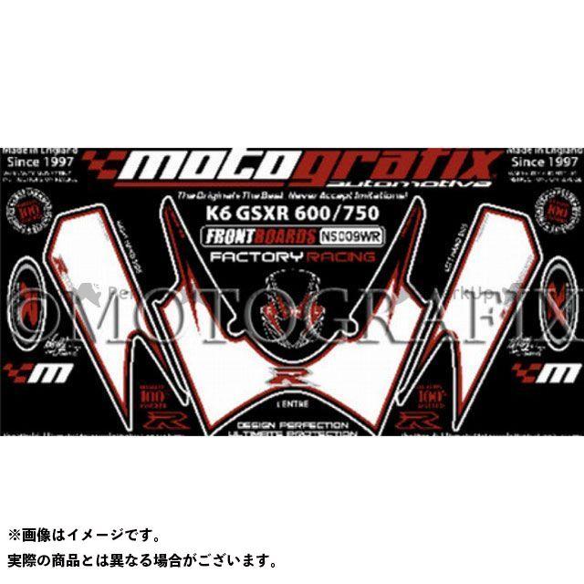 モトグラフィックス GSX-R600 GSX-R750 ボディパッド Front スズキ タイプ:NS009WR MOTOGRAFIX