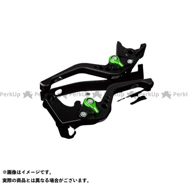 【特価品】SSK デイトナ675R スピードトリプル スピードトリプルR アルミビレットアジャストレバーセット 3Dショート(レバー本体:マットブラック) アジャスター:マットグリーン エスエスケー