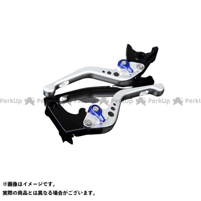 【特価品】SSK デイトナ675R スピードトリプル スピードトリプルR アルミビレットアジャストレバーセット 3Dショート(レバー本体:マットシルバー) アジャスター:マットブルー エスエスケー