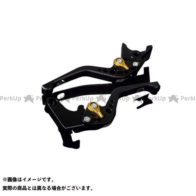 【特価品】SSK アルミビレットアジャストレバーセット 3Dショート(レバー本体:マットブラック) アジャスター:マットゴールド エスエスケー