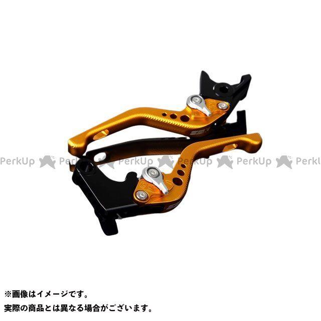 【特価品】SSK 汎用 アルミビレットアジャストレバーセット 3Dショート(レバー本体:マットゴールド) アジャスター:マットシルバー エスエスケー