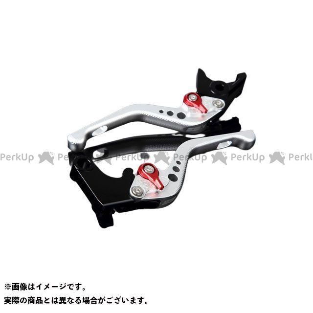 【特価品】SSK 汎用 アルミビレットアジャストレバーセット 3Dショート(レバー本体:マットシルバー) アジャスター:マットレッド エスエスケー