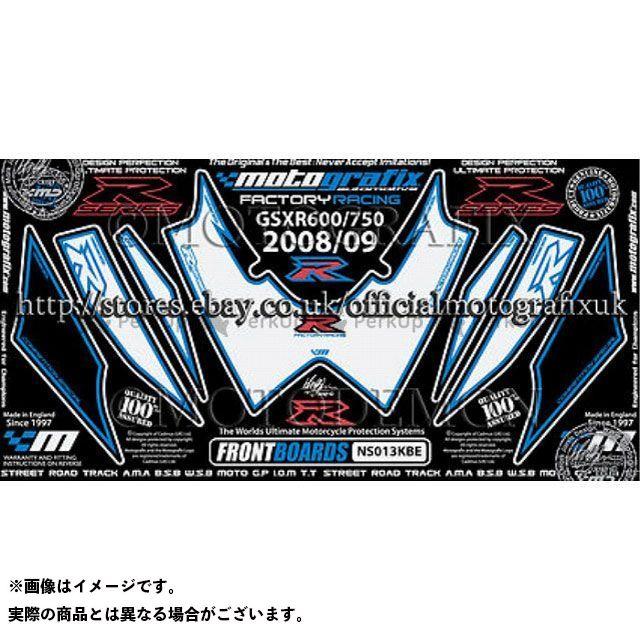 モトグラフィックス GSX-R600 GSX-R750 ボディパッド Front スズキ タイプ:NS013KBE MOTOGRAFIX