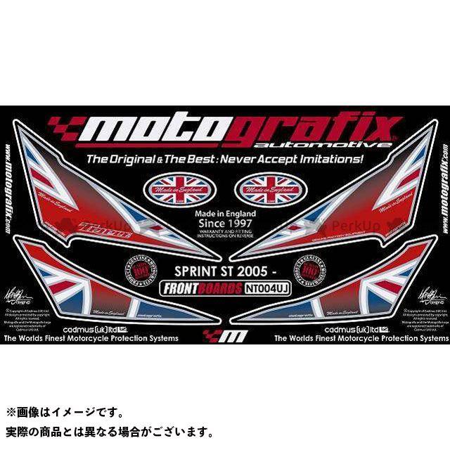 【エントリーで最大P23倍】モトグラフィックス スプリントST ボディパッド Front トライアンフ タイプ:NT004UJ MOTOGRAFIX