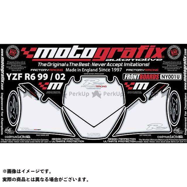 モトグラフィックス YZF-R6 NY001U ボディパッド Front ヤマハ MOTOGRAFIX