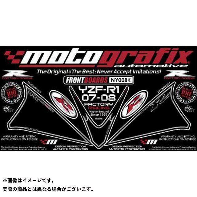 【エントリーで最大P23倍】モトグラフィックス YZF-R1 ボディパッド Front ヤマハ タイプ:NY008K MOTOGRAFIX