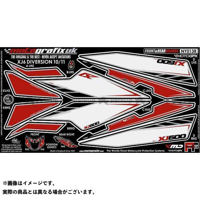 【エントリーで最大P23倍】モトグラフィックス XJ6ディバージョン XJ6ディバージョンF ボディパッド Front&Rear ヤマハ タイプ:NY013R MOTOGRAFIX