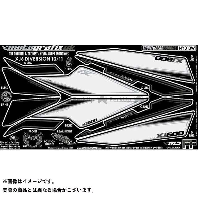 【エントリーで最大P23倍】モトグラフィックス XJ6ディバージョン XJ6ディバージョンF ボディパッド Front&Rear ヤマハ タイプ:NY013W MOTOGRAFIX
