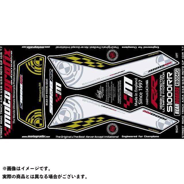 【エントリーで最大P23倍】モトグラフィックス S1000RR ボディパッド Rear BMW タイプ:RB004G MOTOGRAFIX