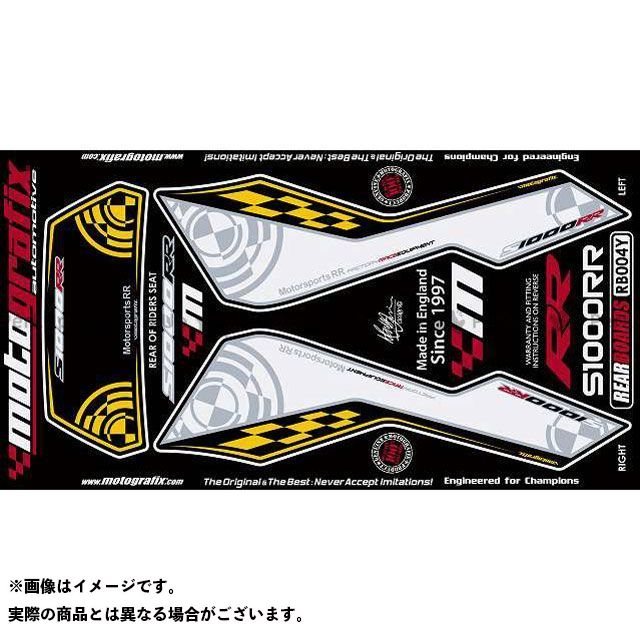 【エントリーで最大P23倍】モトグラフィックス S1000RR ボディパッド Rear BMW タイプ:RB004Y MOTOGRAFIX