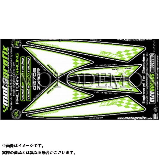 【エントリーで最大P23倍】モトグラフィックス ニンジャZX-10R ボディパッド Rear カワサキ タイプ:RK007GWE MOTOGRAFIX