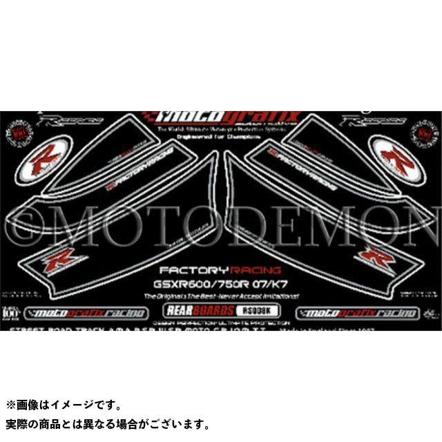 【エントリーで最大P23倍】モトグラフィックス GSX-R600 GSX-R750 ボディパッド Rear スズキ タイプ:RS008K MOTOGRAFIX