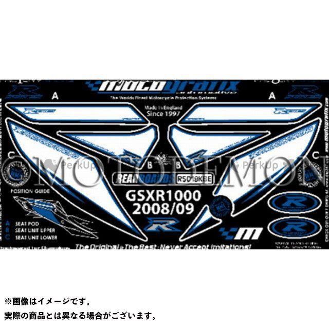 モトグラフィックス GSX-R1000 GSX-R600 GSX-R750 ボディパッド Rear スズキ タイプ:RS019KBE MOTOGRAFIX