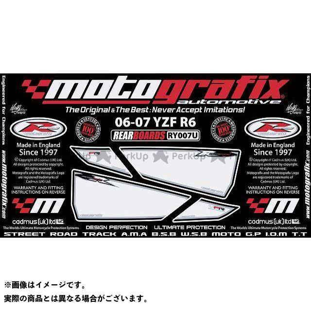 【エントリーで最大P23倍】モトグラフィックス YZF-R6 RY007U ボディパッド Rear ヤマハ MOTOGRAFIX