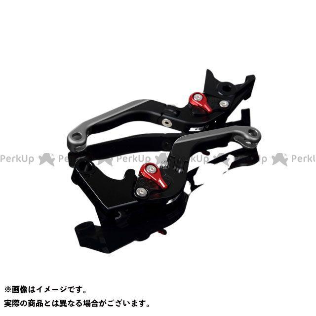 SSK FJR1300AS/A XT1200Zスーパーテネレ アルミビレットアジャストレバーセット 可倒延長式(レバー本体:マットブラック) マットレッド マットチタン エスエスケー