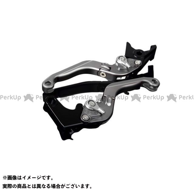 【特価品】SSK GSX-R1000 アルミビレットアジャストレバーセット 可倒延長式(レバー本体:マットチタン) アジャスター:マットシルバー エクステンション:マットチタン エスエスケー