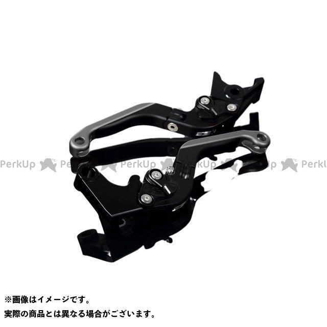 【特価品】SSK GSX-R600 GSX-R750 アルミビレットアジャストレバーセット 可倒延長式(レバー本体:マットブラック) アジャスター:マットブラック エクステンション:マットチタン エスエスケー