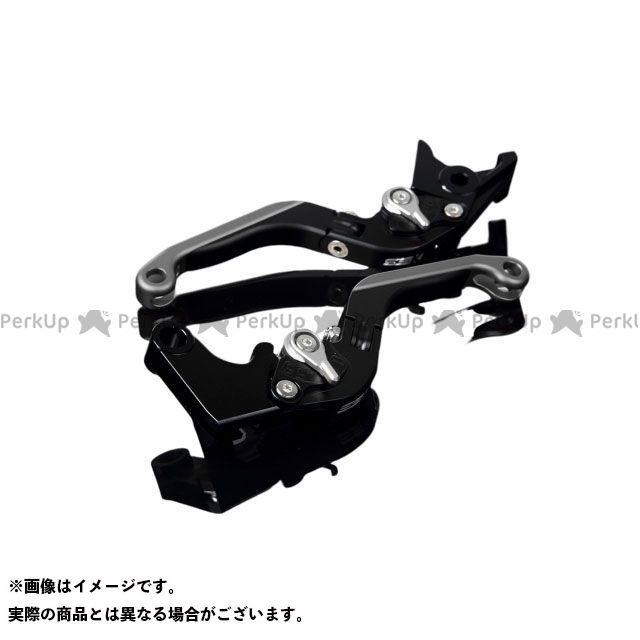 SSK GSX-R600 GSX-R750 アルミビレットアジャストレバーセット 可倒延長式(レバー本体:マットブラック) マットシルバー マットチタン エスエスケー