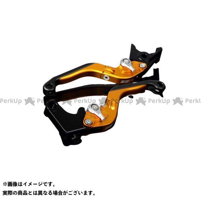 【特価品】SSK RSV4ファクトリー RSV4 R アルミビレットアジャストレバーセット 可倒延長式(レバー本体:マットゴールド) アジャスター:マットシルバー エクステンション:マットブラック エスエスケー