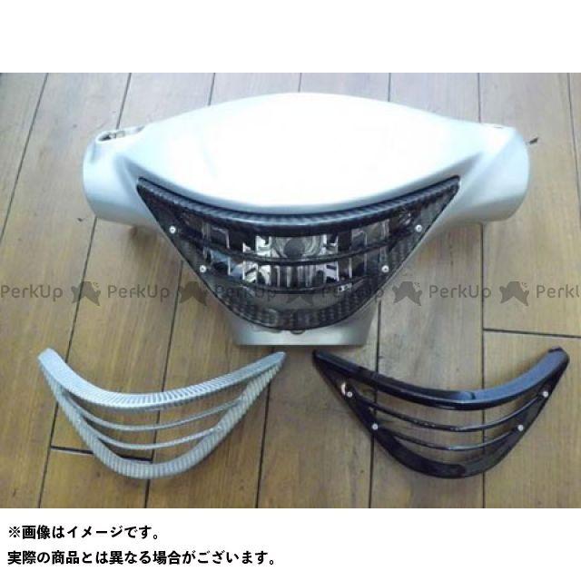 油漢 アドレスV125S V125S ヘッドライトルーバー(黒ゲル) ユカン