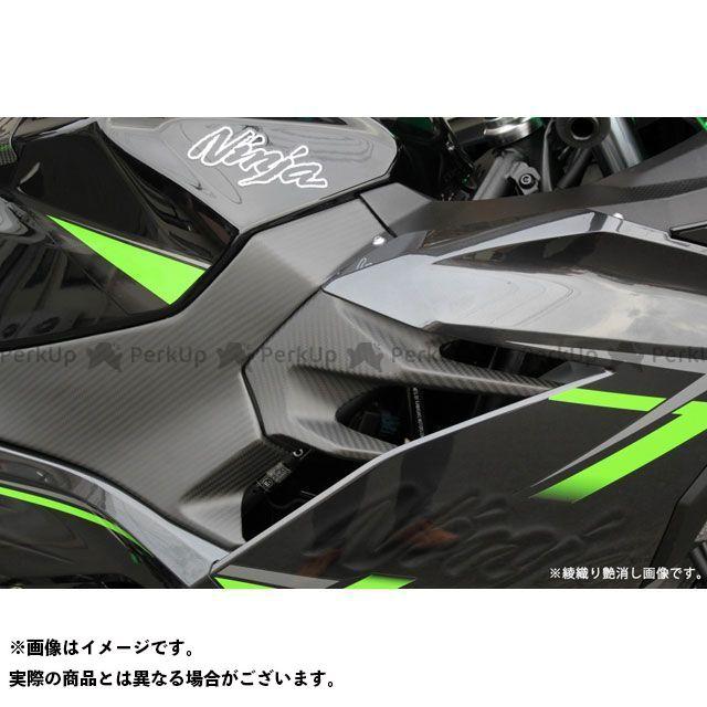 SSK ニンジャ250 ニンジャ400 サイドカバー 左右セットドライカーボン 平織り艶あり エスエスケー