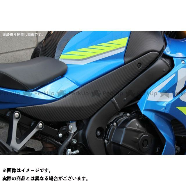 【特価品】SSK GSX-R1000 タンクサイドカバー 左右セットドライカーボン 仕様:平織り艶あり エスエスケー