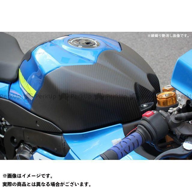【特価品】SSK GSX-R1000 タンクトップカバー ドライカーボン 仕様:綾織り艶消し エスエスケー