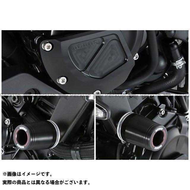 アグラス カタナ レーシングスライダー 3点セット フレームφ50+ジェネレーターB カラー:ジュラコン/ブラック タイプ:ロゴ無 AGRAS